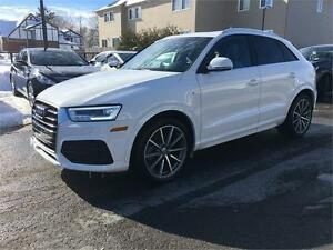 2016 Audi Q3 Technik | S Line | Navigation | Warranty |
