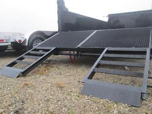 7 TON DUMP TRAILER - BUILT IN RAMP SYSTEM - 7 X 14' SIZE $9290 London Ontario image 8