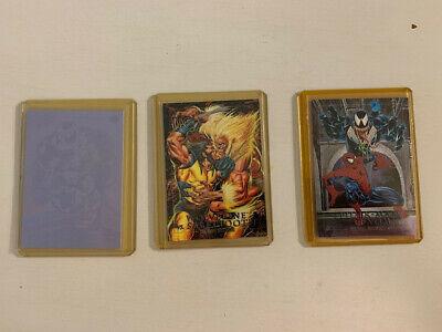 1992 MARVEL MASTERPIECES 1992 Etch cards (Spider Man/Venom and more!)