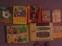 Commodore 64 Cassette Deck & Games