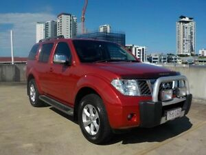 2009 Nissan Pathfinder R51 MY08 ST-L Red 6 Speed Manual Wagon Southport Gold Coast City Preview