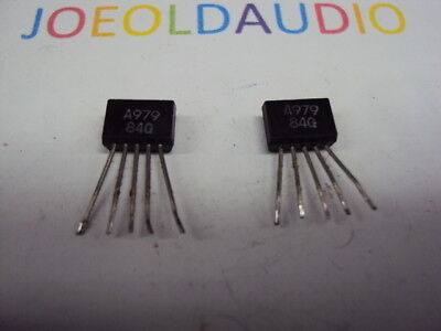 Transistor A979. 2 Pcs. Pulled Part. Tested With Curve Tracer.