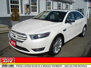 2016 Ford Taurus ltd $27,995*or $115.13 weekly on the road