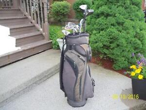 Men's Right Hand 11-pc Golf Clubs Set and Bag