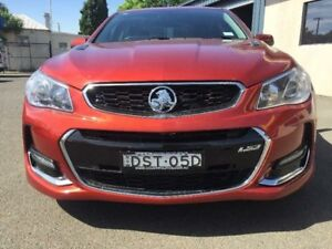 2016 Holden Commodore VF II MY16 SS Red 6 Speed Sports Automatic Sedan
