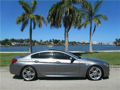 2013 BMW 6-Series 640i M PACKAGE CLEAN CARFAX 650 645 NON SMOKER 2013 BMW 640i GRAN COUPE M PACKAGE ONLY 84K MILES FL NO RUST 650 CLEAN CARFAX