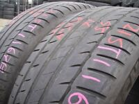 215/55/16 Michelin Primacy HP x2 A Pair, 5.2mm (454 Barking Rd, Plaistow, E13 8HJ) Second Hand Tyres