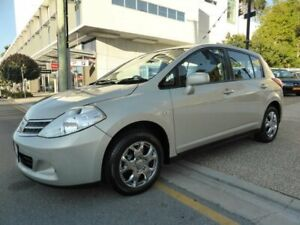 2011 Nissan Tiida C11 Series 3 MY10 ST Gold 4 Speed Automatic Hatchback Southport Gold Coast City Preview