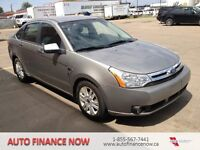 2008 Ford Focus SES 4dr LEATHER LOADED WE FINANCE INSTANT
