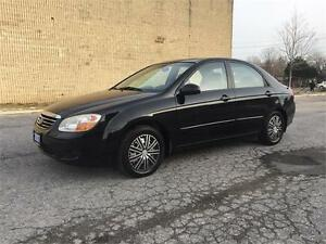 2007 Kia Spectra LX/Gas Saver/Good KM/Certified and E-Tested