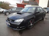 SUBARU IMPREZA 2.5 WRX~56/2006~MANUAL~STUNNING BLACK~JUST 38k~FULL SERV HISTORY