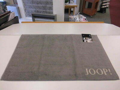 JOOP! Badematte Classic 1600 Badvorleger Badteppich Duschvorleger Fb.70 Graphit
