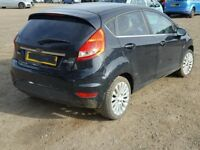 Breaking for parts my crashed Ford Fiesta Titanium 2010 ........1.6 DIESEL