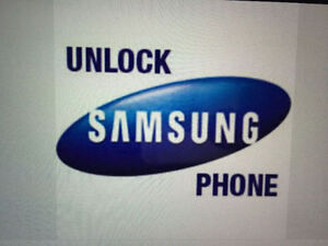 Samsung S3 ,S4 ,S5 note ect...unlocking on the spot for only 20$