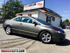 2006 Honda Civic Cpe LX -  LOW KM , MAZDA, FORD, CHEAP CARS, GMC