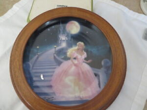 The Magic of Cinderella Porcelain Collector Plate
