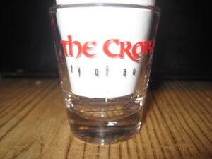 [NEW] 1996 THE CROW:CITY OF ANGELS PROMOTIONAL SHOT GLASS