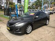 2012 Mazda 6 GH1052 MY12 Luxury Sports Grey Sports Automatic Hatchback Cabramatta Fairfield Area Preview