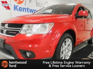 2016 Dodge Journey RT AWD in candy apple red with rear climate c