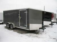 2015 US Cargo 7X16 V-nose Enclosed Trailer