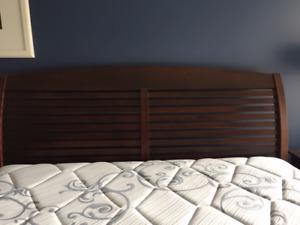 Solid wood Queen size Headboard/footboard