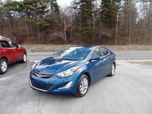 2016 HYUNDAI ELANTRA SPORT...LOADED!! SUNROOF & BLUETOOTH!!