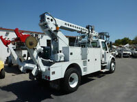 freightliner m2 Telsta T40c cable placer
