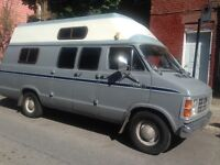 MUST SELL QUICK SALE / 1982 Dodge Camper Van / REDUCED