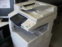 Xerox workcentre colour copier scanner 7425 used but in working order