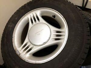 Goodyear ultragrip P215/70 R15 Winter Tires - PRICE DROP