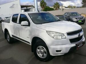 2012 Holden Colorado RG MY13 LX Crew Cab 4x2 White 6 Speed Sports Automatic Utility Melrose Park Mitcham Area Preview