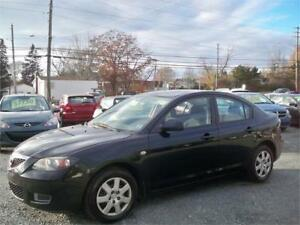 GREAT DEAL MAZDA 3 , NEW MVI! , NEW WINTER TIRES!  LOW MILEAGE