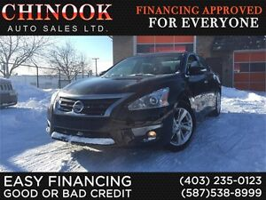 2013 Nissan Altima 2.5 SL-Htd Leather,Sunroof,Rmt Start,Rear Cam