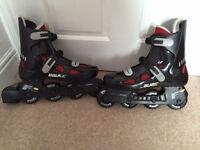 Bauer Premium Inline Skates Size 8 in Excellent Condition
