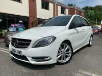 2014 64-Reg Mercedes B180 CDI Sport Auto,GEN 40,000 MILES,1 PREVIOUS OWNER,LOOK!