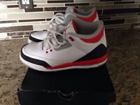 Jordan retro 3 fire red