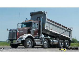2012 KENWORTH T800 DOMPEUR À VENDRE / DUMP TRUCK FOR SALE