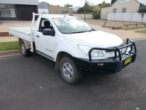 2015 Holden Colorado DX White 6 Speed Manual Single Cab Chassis Young Young Area Preview