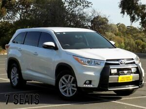 2014 Toyota Kluger GSU55R GX AWD White 6 Speed Sports Automatic Wagon Cheltenham Charles Sturt Area Preview