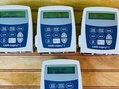 Smiths Medical Cadd Legacy 1 6400 Ambulatory Infusion Pump W301