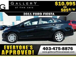 2011 Ford Fiesta S $89 bi-weekly APPLY NOW DRIVE NOW