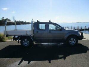 2011 Nissan Navara D40 ST (4x4) Grey 6 Speed Manual Dual Cab Pick-up Dapto Wollongong Area Preview