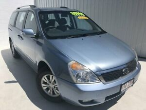 2011 Kia Grand Carnival VQ MY12 SI Blue 6 Speed Sports Automatic Wagon Mundingburra Townsville City Preview