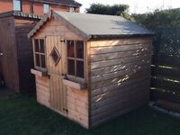Kids Wooden Playhouse (6 feet square)