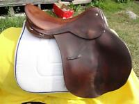 "16.5"" Barnsby English Saddle"