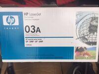 HP LASER JET CARTRIDGE/TONER 03A (C3903A)