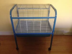 XL Rabbit / Guinea Pig Cage on Wheels