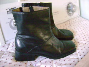 New Leather Boots