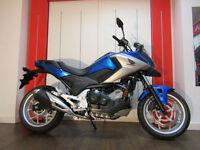 Honda NC750X BLUE 0% PCP FINANCE AVAILABLE