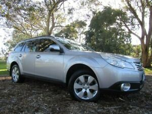 2011 Subaru Outback B5A MY12 2.5i Lineartronic AWD Silver 6 Speed Constant Variable Wagon Dandenong Greater Dandenong Preview